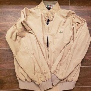 Izod Lacoste Mens Size L Vintage 1980s Harrington